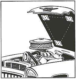 Die Konstruktion des Behälters für die Aufbewahrung des Benzins